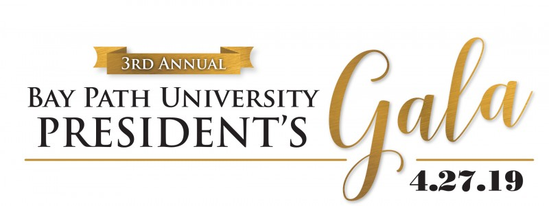 Bay Path University's 3rd annual President's Gala logo