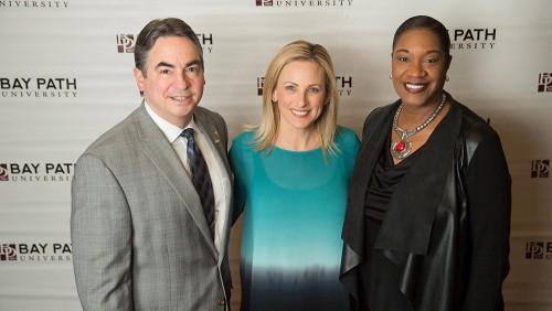 Mayor Domenic Sarno, Marlee Matlin & Denise Jordan