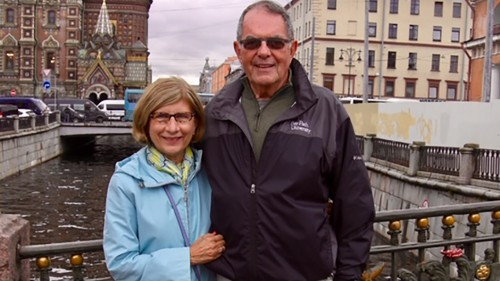 Dr. Carol and Noel Leary