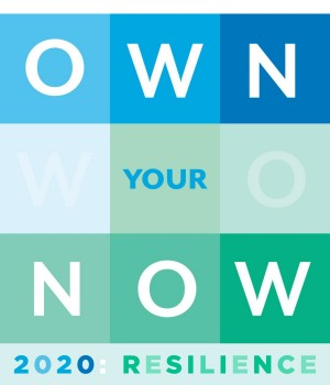 image that has text that say Own Your Now